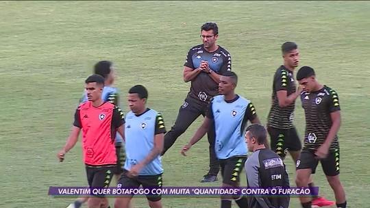 A palavra da hora para o Botafogo é Quantidade.