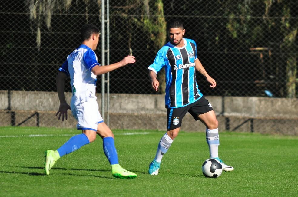Dionathã vinha jogando no Brasileiro sub-20 (Foto: Rodrigo Fatturi/Grêmio)