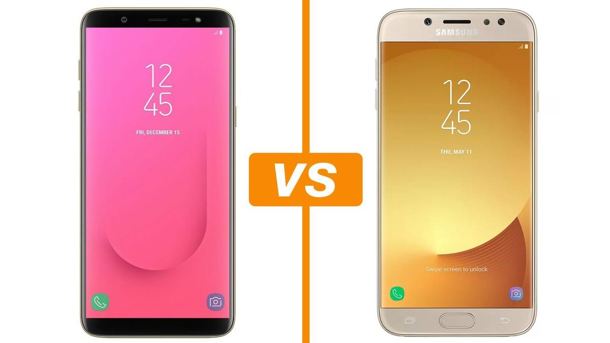 2d1d17d30 O que muda no Galaxy J8  conheça diferenças em relação ao Galaxy J7 Pro