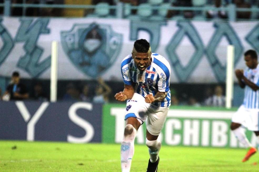 Nome de Bergson voltou a ganhar força após negociação com Rafael Moura esfriar (Foto: Fernando Torres/Paysandu)
