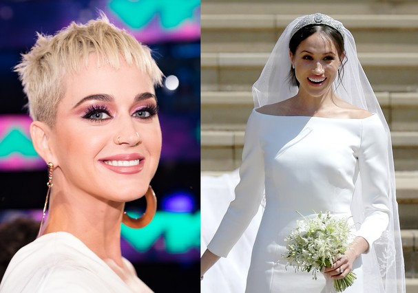 Katy Perry e Meghan Markle (Foto: Getty Images)
