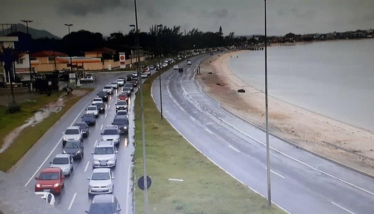 Rodovias da Região dos Lagos do Rio têm movimento intenso no feriado da Consciência Negra