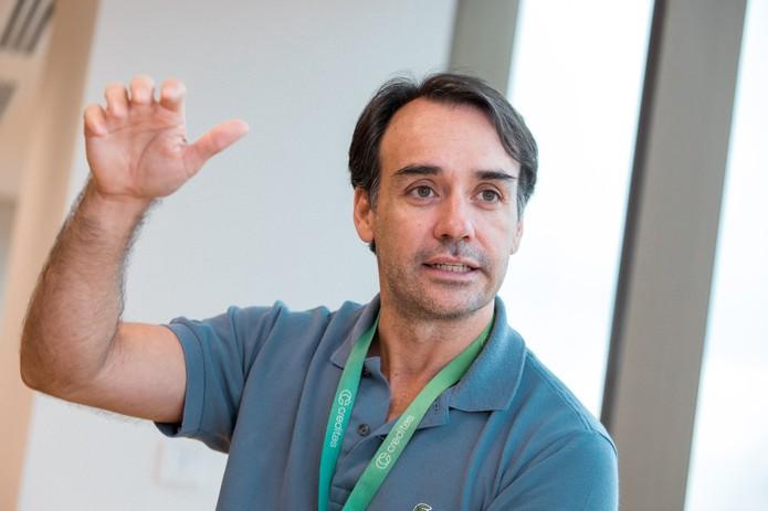 Sergio Furio, fundador da Creditas — Foto: Marcelo Brandt/G1