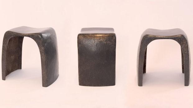 Cabelo humano é usado para fazer banco biodegradável (Foto: Reprodução/Divulgação)