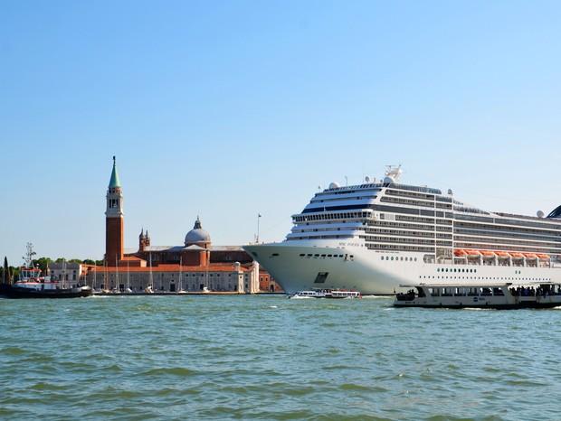 Veneza proíbe navios de cruzeiro de atracarem no centro histórico a partir de setembro (Foto: Pixabay)