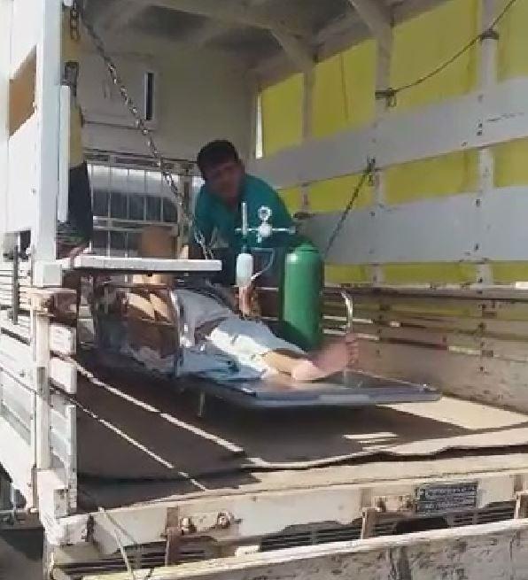 Sem Samu, idosa é levada em pau-de-arara até UTI aérea e morre dias depois em hospital no AC