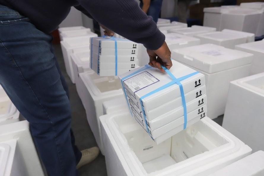 Paraná recebe mais de meio milhão de doses da vacina contra a Covid-19