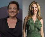 Ana Beatriz Nogueira e Deborah Evelyn | Mauricio Fidalgo e Estevam Avellar/TV Globo