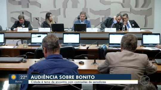 Município de Bonito é tema de encontro com comissões de senadores