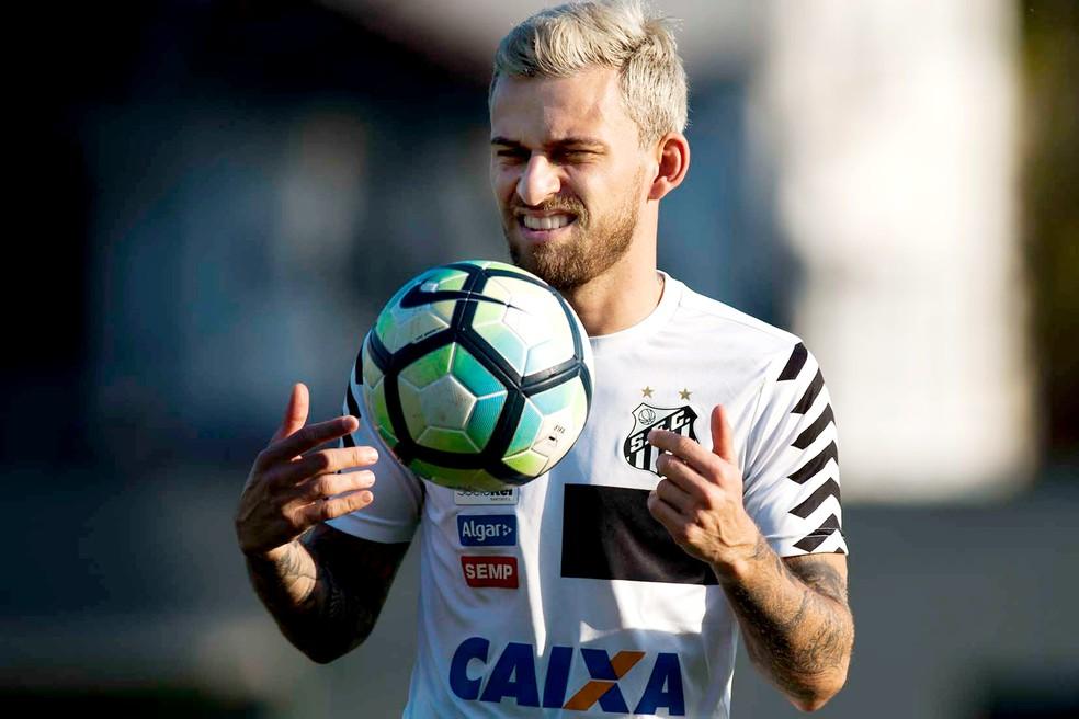 Lucas Lima tem contrato com o Santos até dezembro (Foto: Ivan Storti/Santos FC)