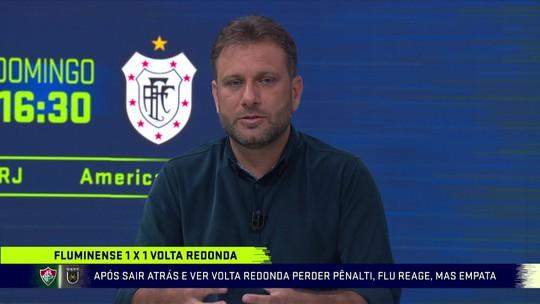 """Loffredo questiona adaptação ao estilo de Diniz: """"Fluminense pode esperar quanto tempo?"""""""