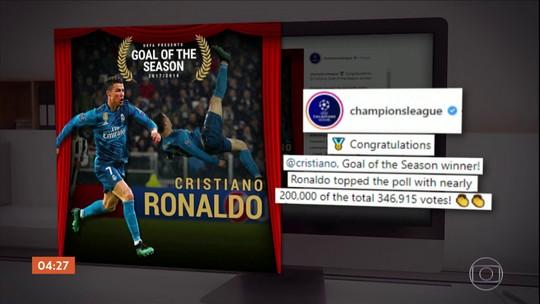 Buffon relembra conversa com Cristiano Ronaldo após sofrer golaço de bicicleta e exalta português