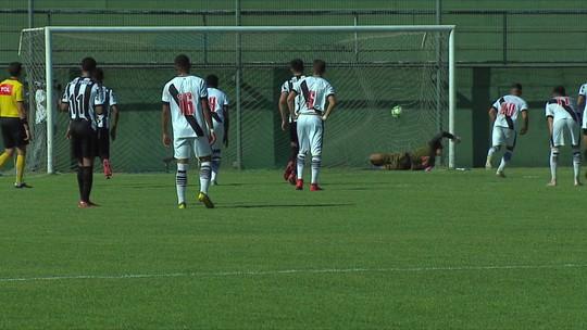 De virada, Vasco derrota o Atlético-MG pelo Campeonato Brasileiro sub-20