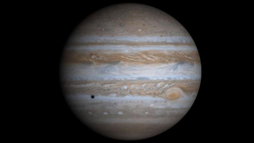 Maior número de rodovias celestes foi encontrado em Júpiter — Foto: NASA/JPL/UNIVERSIDADE DO ARIZONA