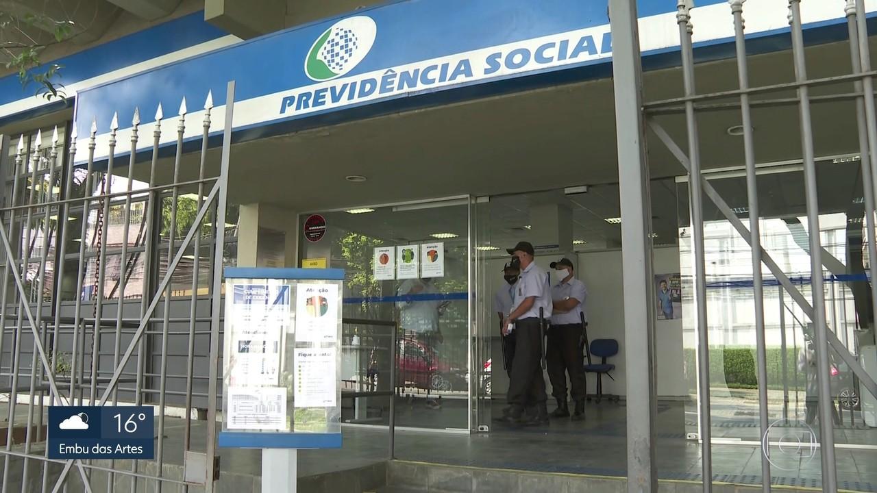 Agências do INSS reabrem sem filas e sem perícias médicas