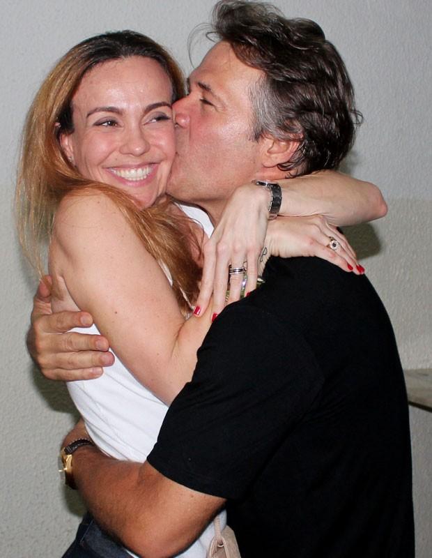 Flávia Monteiro e Nelson Freitas (Foto: Bruna Jardim/Divulgação)