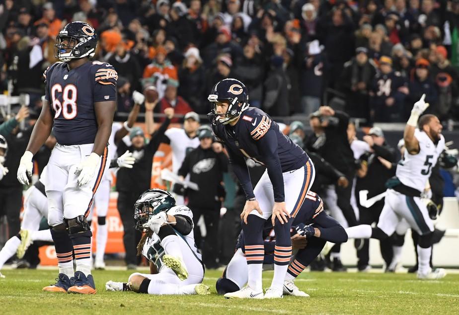 1ce4ef16b6e2d Desvio de leve contribuiu para chute errado que tirou os Bears dos playoffs