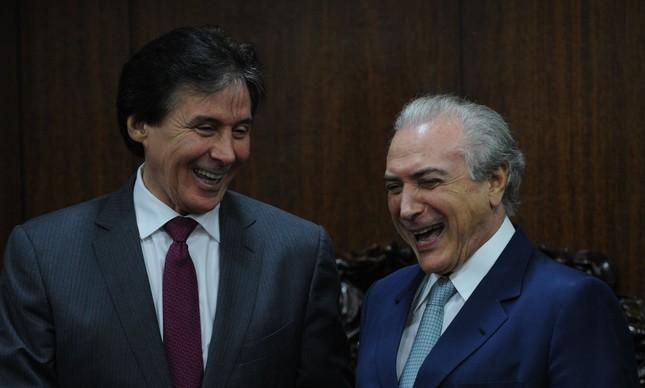 eunicio oliveira michel temer - Aliado de Temer fue elegido al frente del senado