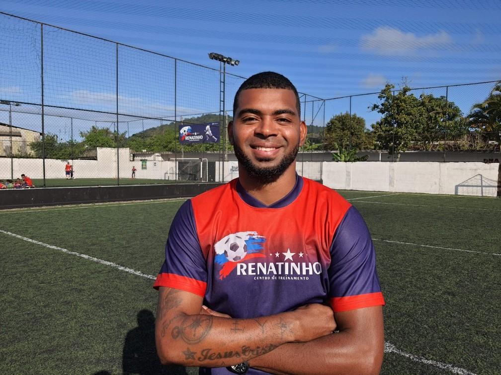 """Renatinho, ex-atacante do Santos que foi considerado o """"novo Robinho"""" — Foto: Emilio Botta"""