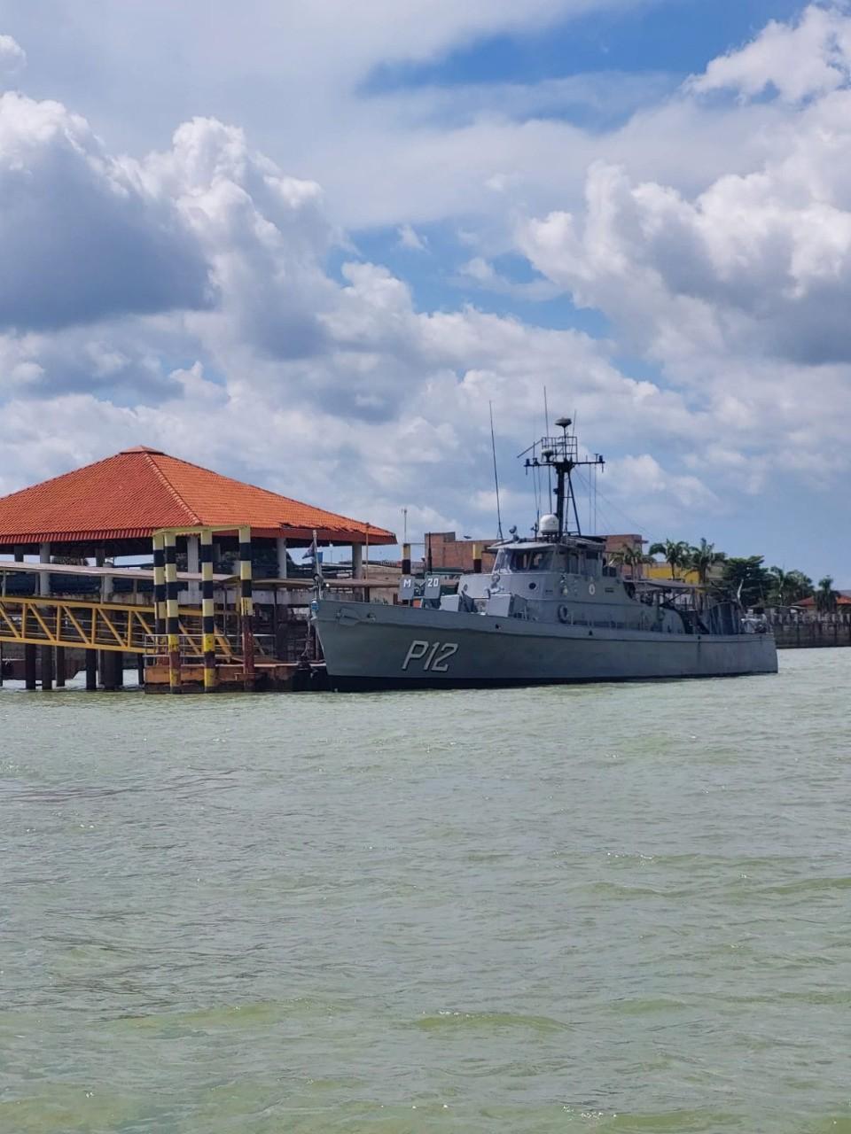Marinha envia para Itaituba navio de apoio a operação contra delitos ambientais no PA