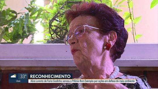 Alice Lorentz de Faria Godinho vence na categoria meio ambiente