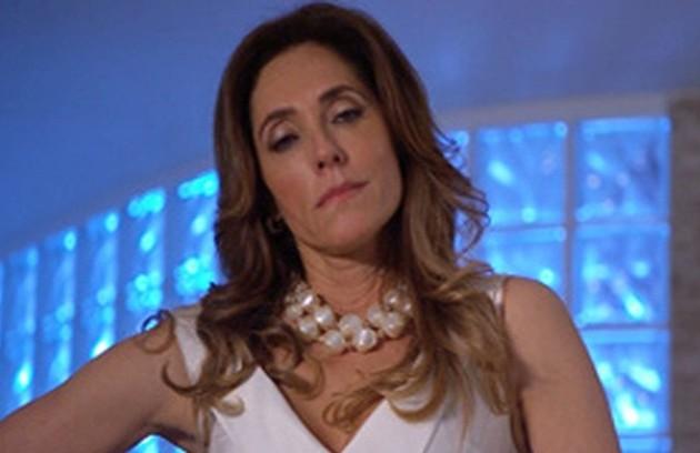 Na quarta (8), Tereza Cristina conseguirá informações sobre o investidor do Brasileiríssimo  (Foto: TV Globo)
