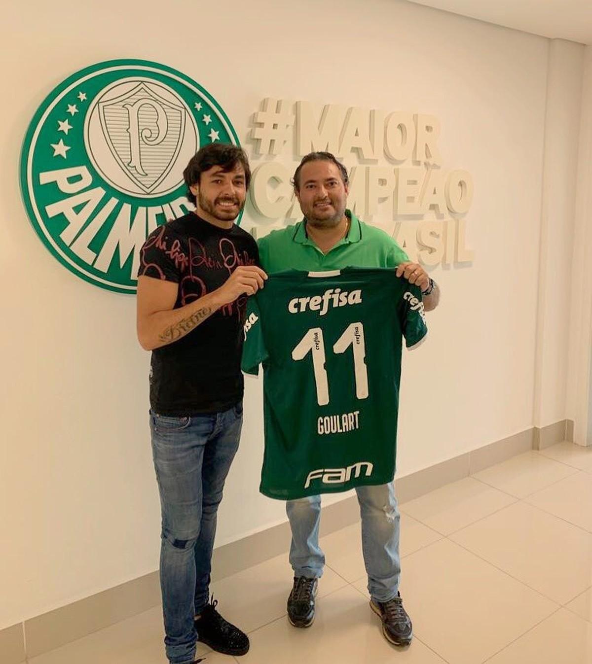 a990669034 Palmeiras chega a acordo com clube chinês e contrata Ricardo Goulart ...
