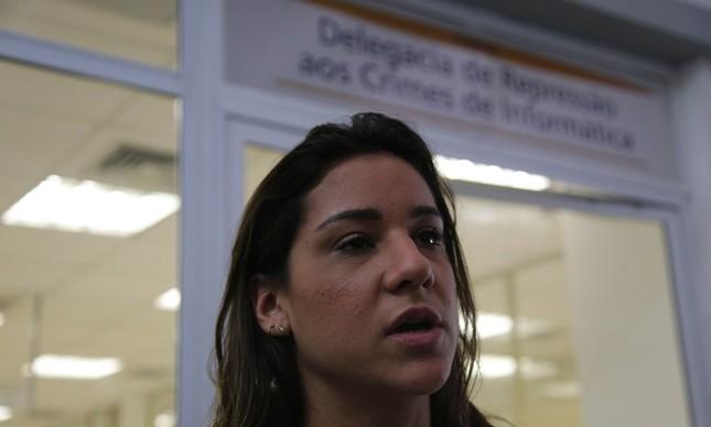 Joanna Maranhão prestou queixa de assédio sexual, em 2016, contra um ex-técnico de natação