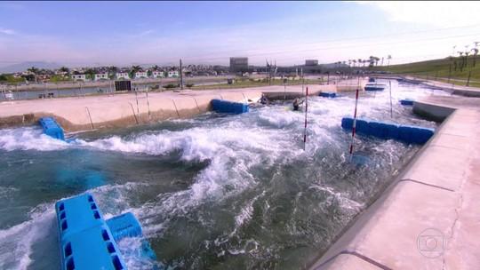 Com pista olímpica à disposição, Parque Radical agrada atletas e vira casa do slalom