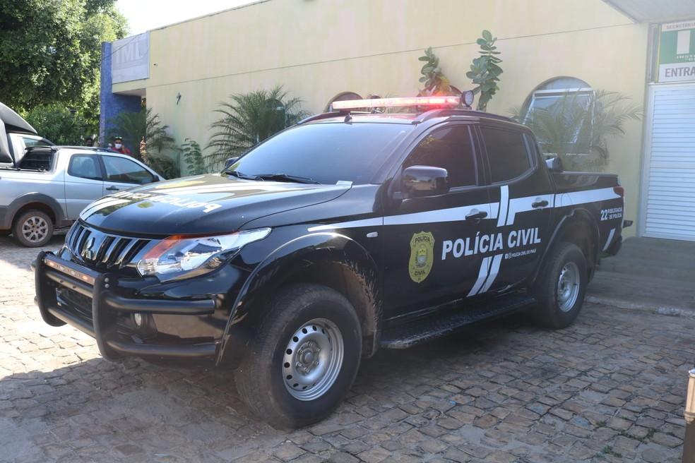 Condenado por matar um homem com mais de 20 facadas, foragido desde fevereiro, é preso no PI — Foto: Lívia Ferreira/g1 PI