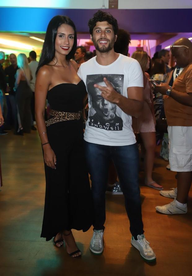 Jesus Luz e Carol Ramiro (Foto: Daniel Pinheiro/AgNews)