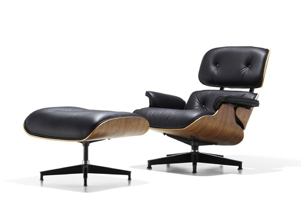 Eames Lounge Chair and Ottoman_Herman Miller  (Foto: Divulgação)