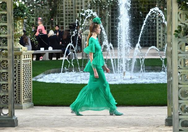 Chanel alta-costura  (Foto: Getty Images)