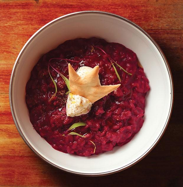 Para inovar no menu: arroz cremoso de beterraba! (Foto: Divulgação)