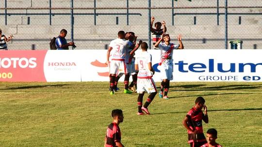 """Gláucio faz 1º gol da carreira e sente Galo convincente na Copa Piauí: """"Dá um gás"""""""