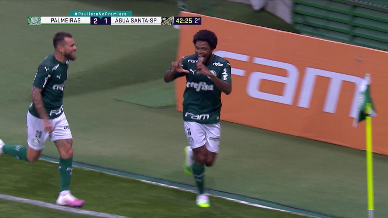 Palmeiras 2 x 1 Água Santa
