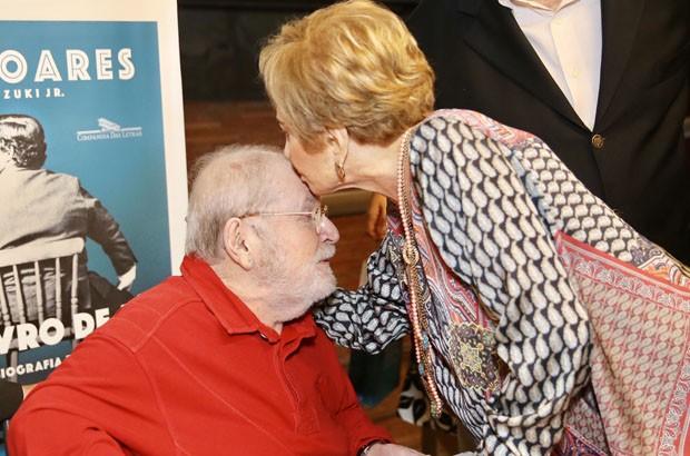 Glória Menezes e Jô Soares (Foto: Manuela Scarpa/Brazil News)