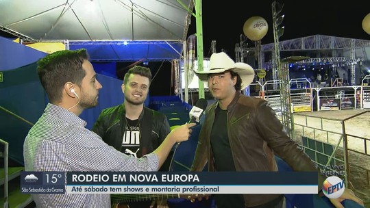 Nova Europa Rodeio Show 2019 começa nesta quinta-feira; confira a programação