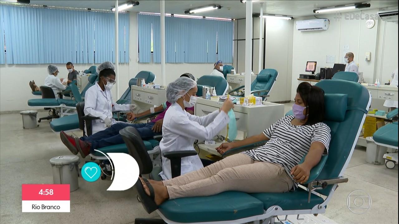 Doação de sangue e órgãos sofre queda durante pandemia