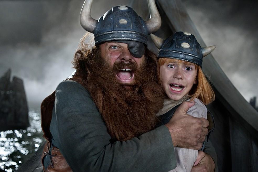 'Wickie e o tesouro dos deuses' é um dos filmes que faz parte da programação da mostra, em Triunfo — Foto: Divulgação