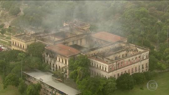 Museu Nacional passará por quatro etapas de recuperação para voltar a funcionar