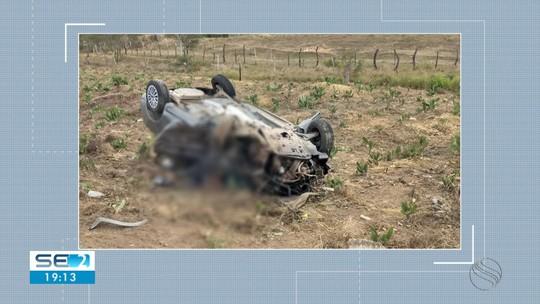 Uma pessoa morre e seis ficam feridas em batida na BR-235