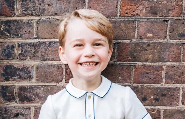 Príncipe George (Foto: Reprodução/Instagram)