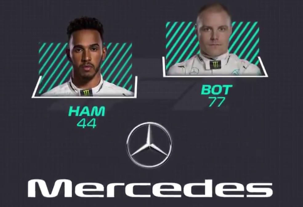 Mercedes — Foto: Reprodução