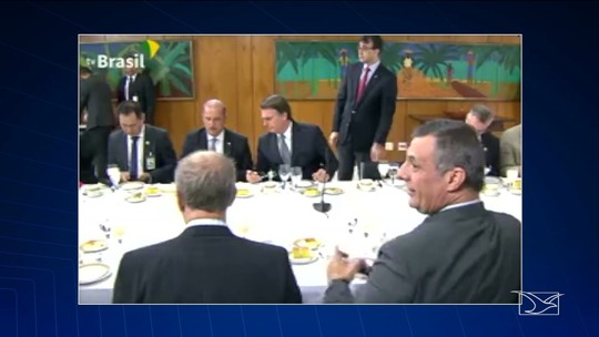Governador do MA reage contra declaração de Jair Bolsonaro em café da manhã em Brasília