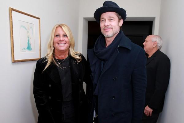 Cynthia Pett-Dante e Brad Pit (Foto: Getty Images)