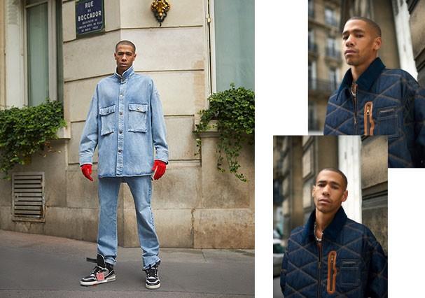 Denim forever: O jeans chega de cara nova. Dessa vez mais amplo e com aviamentos que reforçam o toque urbano necessário (Foto: Leo Faria)