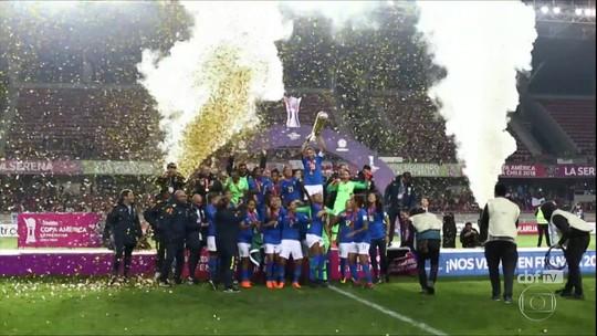 Seleção Brasileira é heptacampeã na Copa América feminina de futebol
