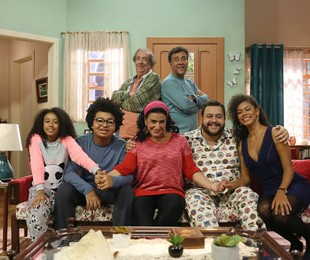 Elenco de 'O dono do lar', do Multishow | Edu Viana/Multishow