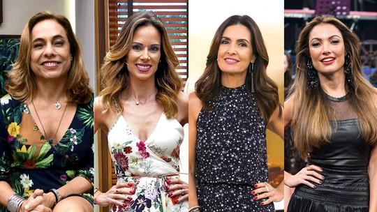No Dia das Mães, Fátima Bernardes, Ana Furtado, Cissa Guimarães e Patrícia Poeta emocionam em homenagem à data